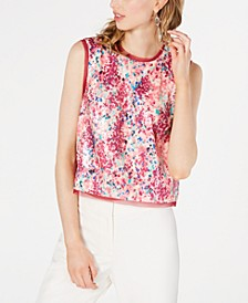 Effie Sequined Tank Top