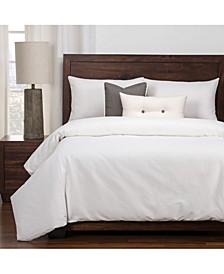 Everlast White Stain Resistant 6 Piece King Luxury Duvet Set