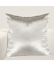 "Siscovers Cinderella Silver Slipper 26"" Designer Euro Throw Pillow"