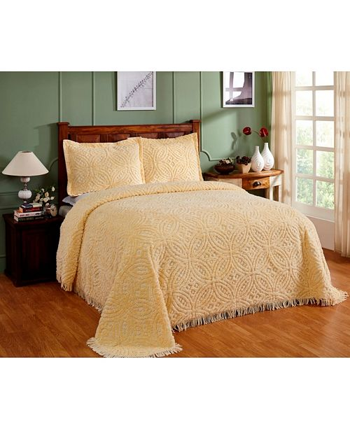 Better Trends Wedding Ring  Sham and Bedspread Collection