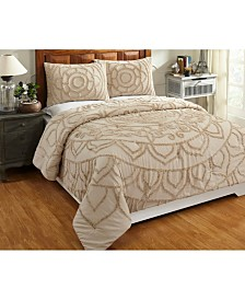 Cleo Full/Queen Comforter Set