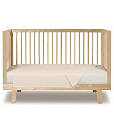 Rayon from Bamboo Crib Sheet for Baby and Toddler Bed Mattress