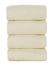 4 Pack of Washcloths, Washcloth Set