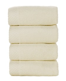 BedVoyage 4 Pack of Washcloths, Washcloth Set