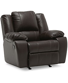 "Kovin 42"" Leather Wallhugger Power Recliner"