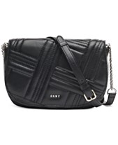 05716994e8 DKNY Allen Leather Saddle Bag, Created for Macy's