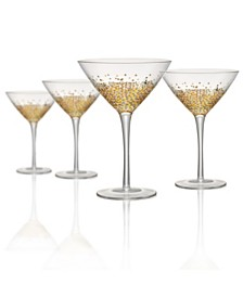 Artland Ambrosia Martini Glass - Set of 4
