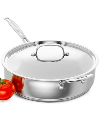 Cuisinart Chef S Classic Stainless Steel Covered 5 5 Qt