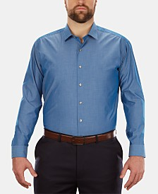 Kenneth Cole Men's Big & Tall Classic-Fit Dress Shirt