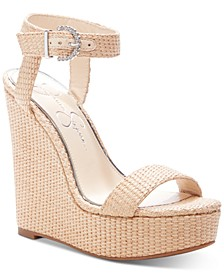 Taery Platform Wedge Sandals