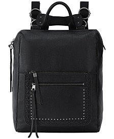 Loyola Leather Convertible Backpack