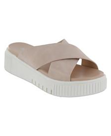 MIA Lia Platform Sneaker Bottom Slides
