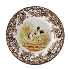 Spode Woodland Pointer Dinner Plate
