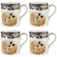 Woodland Pointer Mug Set/4