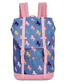 Accessory Innovations Big Girls Unicorn-Print Backpack