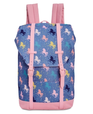 Image of Accessory Innovations 17 Kids' Undercover Unicorn Yalkut Backpack - Blue
