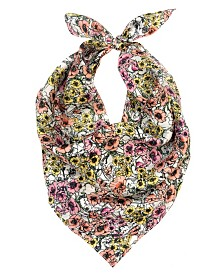 Laundry by Shelli Segal Poppy Silk Square Scarf