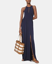 fb4b65e66a87 MICHAEL Michael Kors Keyhole Maxi Dress, in Regular and Petite
