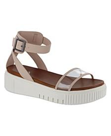 Lunna Platform Sneaker Bottom Sandals