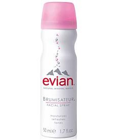 Buy an evian Mineral Water Facial Spray, 10 oz and receive a 1.7 oz Facial Spray for FREE!