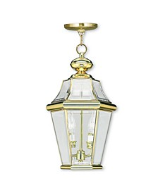 CLOSEOUT!   Georgetown 2-Light Outdoor Chain Lantern