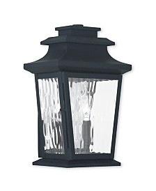 CLOSEOUT! Livex   Hathaway 2-Light Small Outdoor Wall Lantern