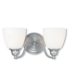 Livex Somerville 2-Light Bath Vanity Fixture