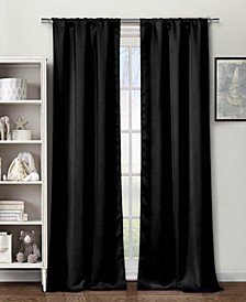 "Steena 30"" x 84"" Velvet Blackout Curtain Set"