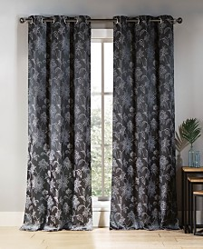"Sansa 38"" x 84"" Floral Curtain Set"
