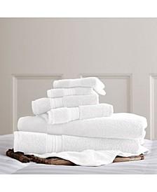 Luxury Spa Collection 100% Cotton 6-Pc. Towel Set