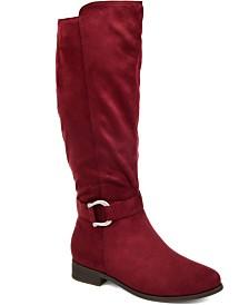 Journee Collection Women's Comfort Cate Wide Calf Boot