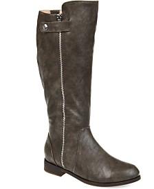 Journee Collection Women's Comfort Extra Wide Calf Kasim Boot