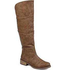 Women's Comfort Wide Calf Vanesa Boot