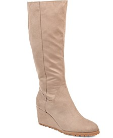 Women's Wide Calf Parker Boot