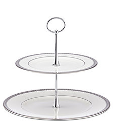 Lenox Serveware, Lace Couture 2 Tier Server