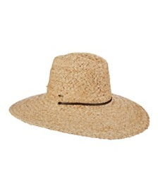 Scala Raffia Lifeguard Sun Hat
