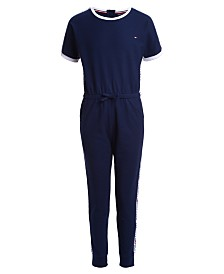 Tommy Hilfiger Big Girls Sporty Jumpsuit