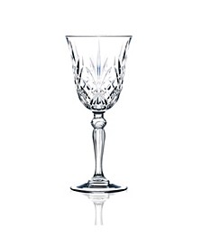 Melodia Crystal Water Glass - Set of 6