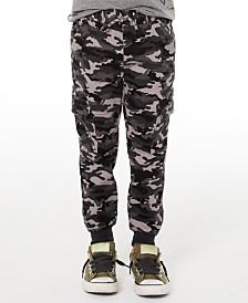 Epic Threads Epic Threads Camo-Print Twill Jogger Pants, Created for Macy's