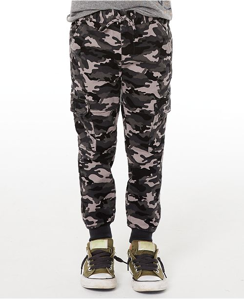 Epic Threads Toddler Boys Camo-Print Twill Jogger Pants, Created for Macy's