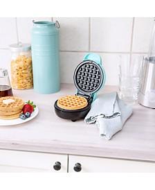 Bella Mini Waffle Maker, Teal