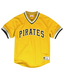 Men's Pittsburgh Pirates Mesh V-Neck Jersey