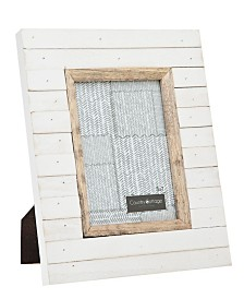 Philip Whitney Slatted White Frame - 5x7