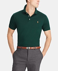 Polo Ralph Lauren Men's Big & Tall Classic Fit Interlock Cotton Polo