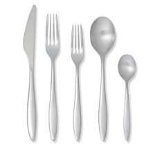 Crafted by Royal Doulton 20-PC Flatware Set, Service for 4
