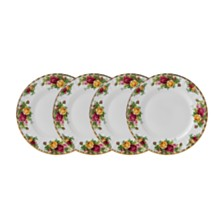 Royal Albert Old Country Roses Salad Plate Set/4