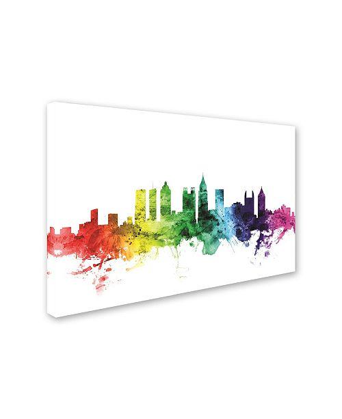 Trademark Global Michael Tompsett 'Atlanta Georgia Skyline