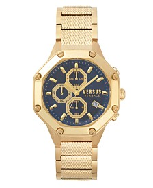 Versus Men's Gold Stainless Steel Bracelet Watch 22mm