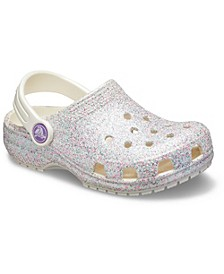 Little Kids Classic Glitter Clogs from Finish Line