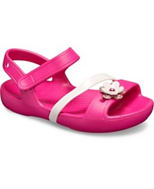 Crocs Baby, Toddler & Little Girls Lina Charm Sandal